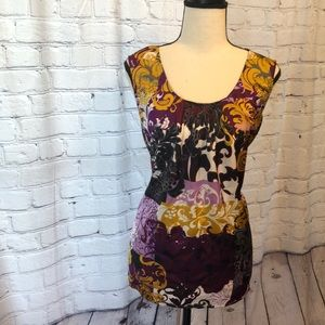 212 Collection sleeveless blouse size Large